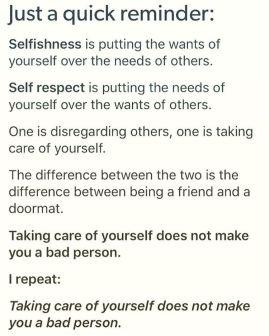 selfishness-vs-self-respect