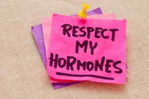 respect my hormones warning